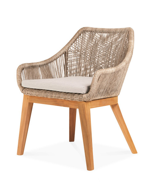 Dalton Dining Chair with Dune Cushion - Set of 2