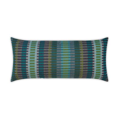 Outdoor Pillow: Calais- Lumbar, Reef