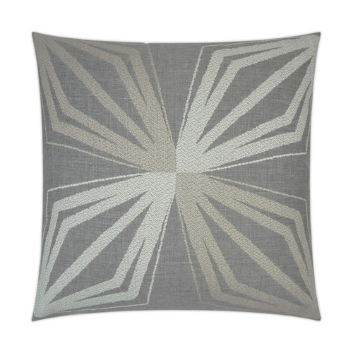 Outdoor Pillow: Brink- Square 20x20,  Stone