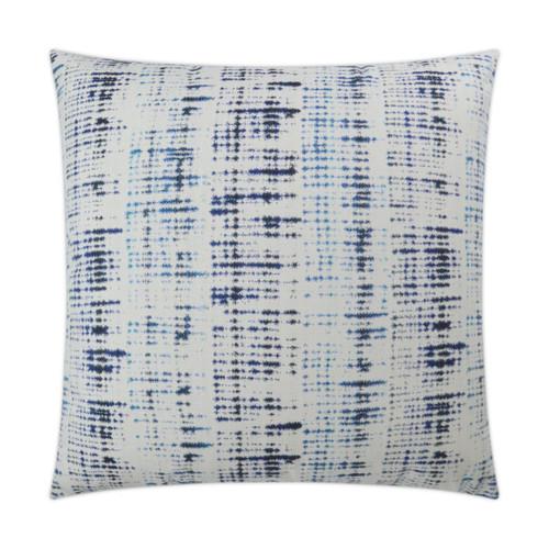 Outdoor Pillow: Mizu- Square,  Indigo