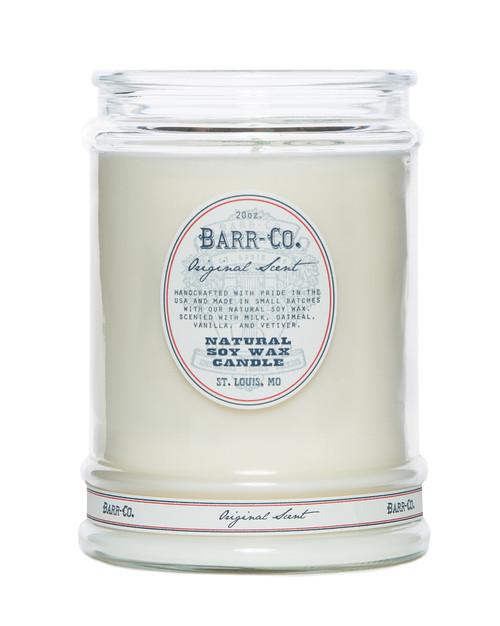 Barr-Co Glass Tumbler Candle - Original Scent