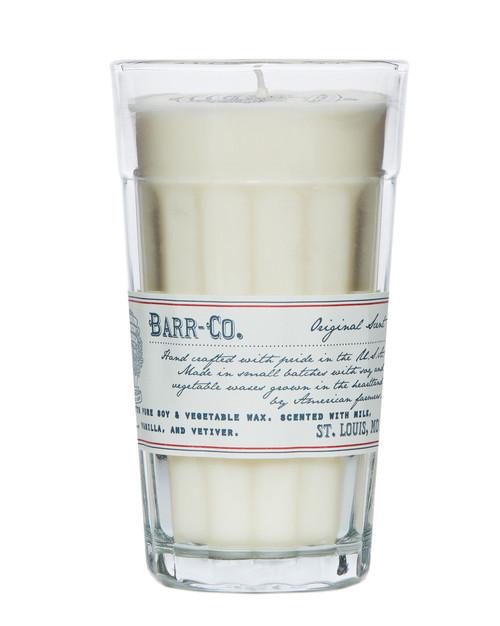 Barr-Co Parfait Glass Candle - Original Scent, 10 oz