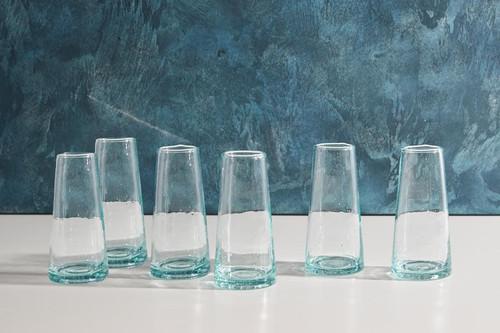 Moroccan Cone Champagne Glasses-Set of 6