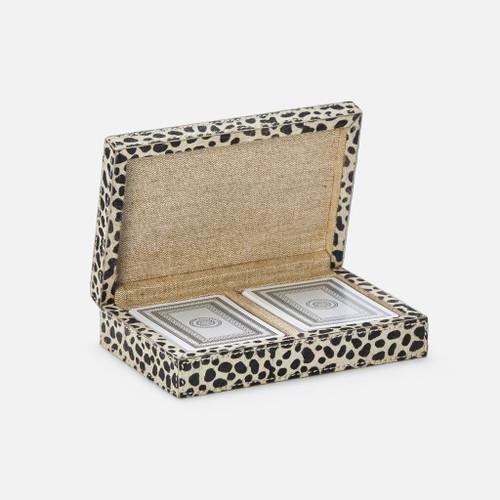 Lesten Card Box, Cheetah Print