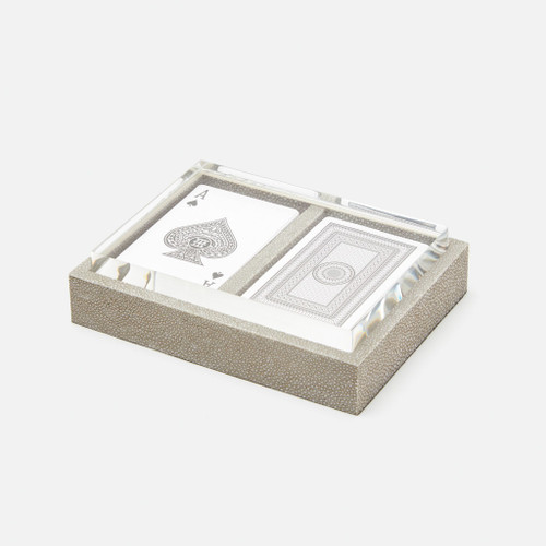 Middelburg Box Set with Two Decks of Cards, Sand