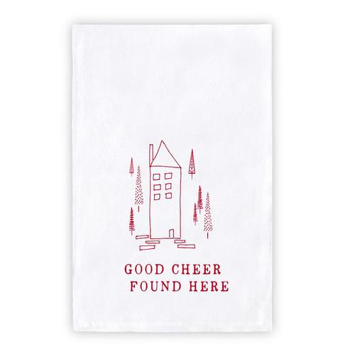 "Thirsty Boy Towel - ""Good Cheer..."""