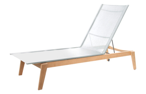 Dodger Sling Chaise w/ Shade - Winter