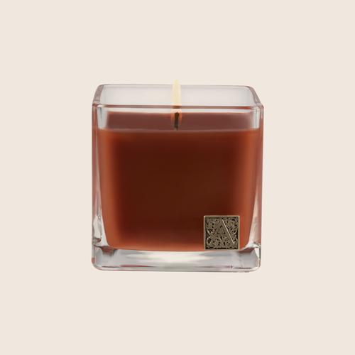 Pumpkin Spice - Cube Glass Candle, 12 oz