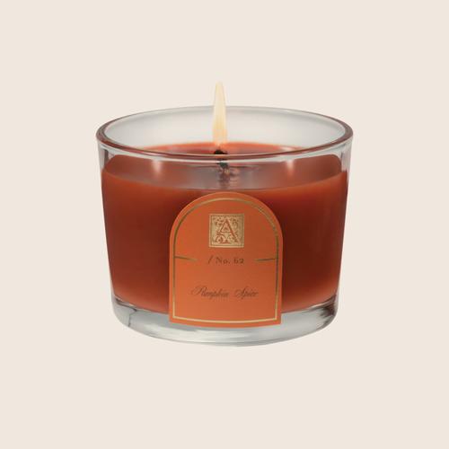 Pumpkin Spice - Petite Glass Tumbler Candle, 4.5 oz