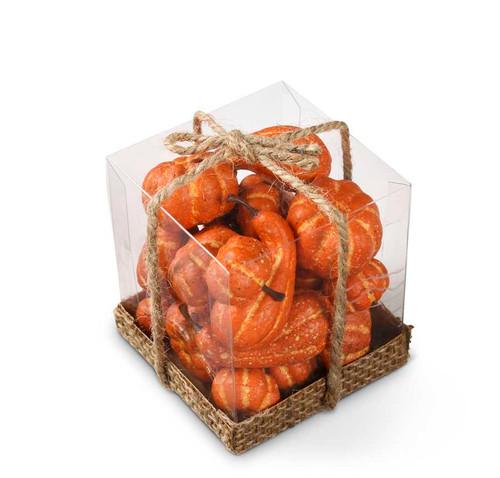 Small Orange Gourds/Pumpkins