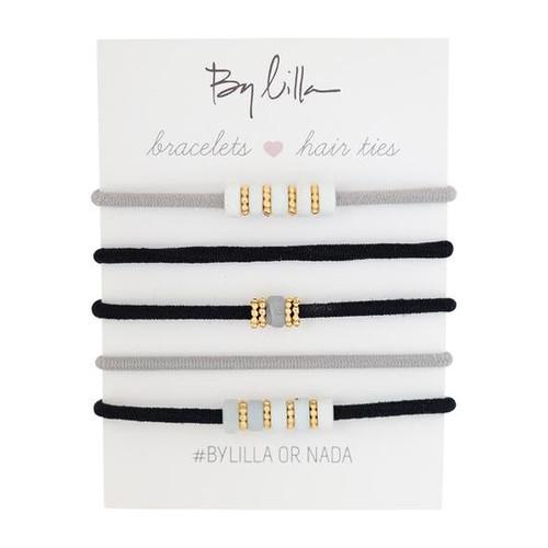 Mini Stacks Hair Elastics/Bracelets, Posh