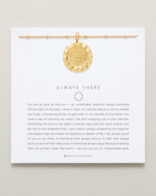 Always There Necklace, Gold
