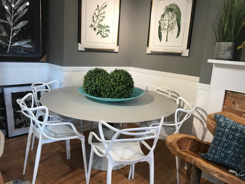 """CO9 Design Sample Set  (50% OFF) -  Bayridge 60"""" Round Dining Table with Jennifer Chairs"""