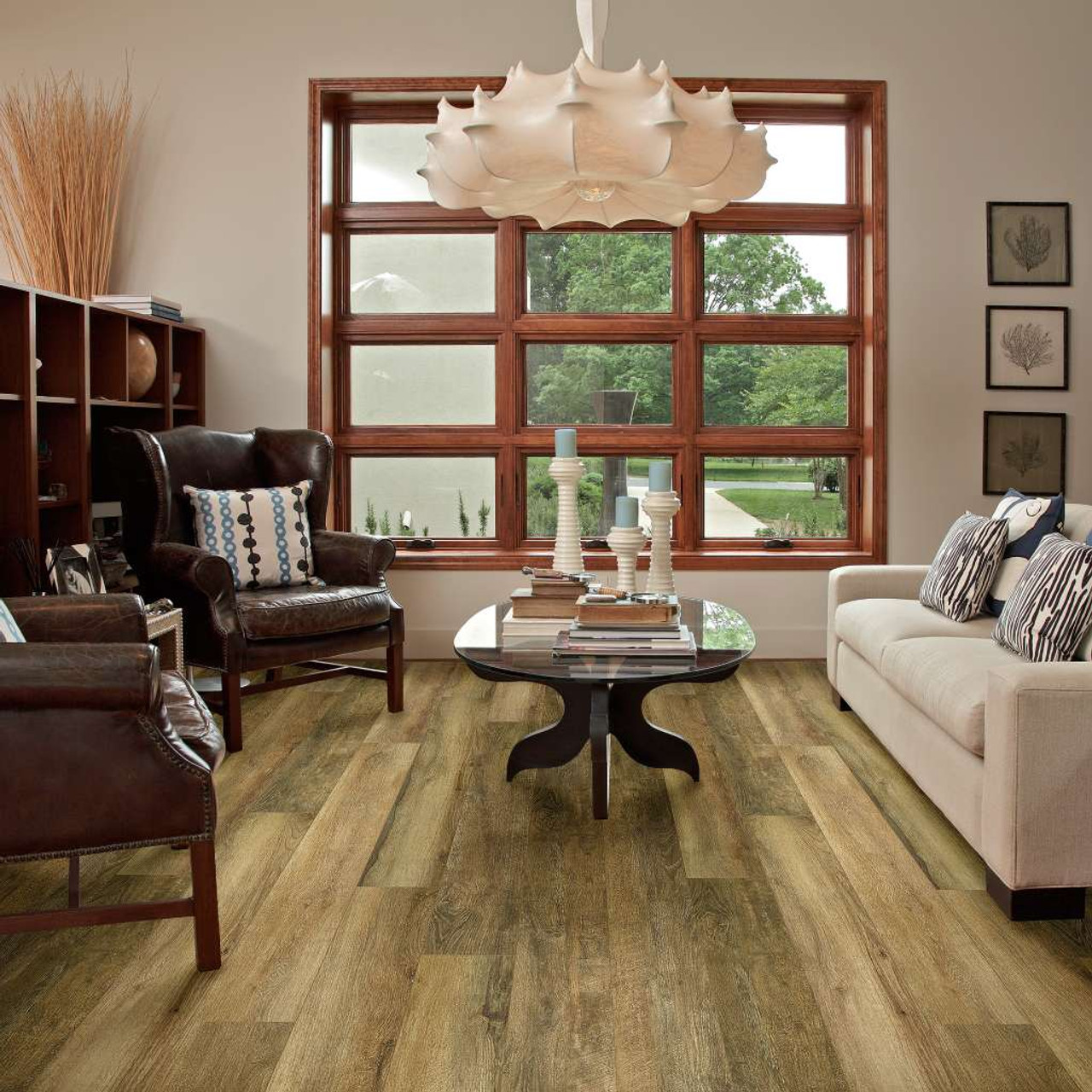 "Shaw Floorte Pro Paragon XL HD Plus 2033V 7"" Luxury Vinyl Plank Room Scene"
