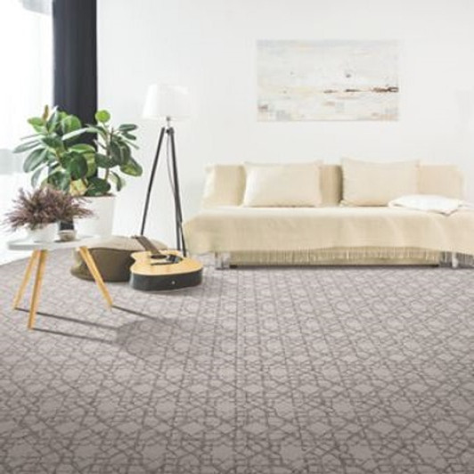 Mohawk Smartstrand Exquisite Craft 3B01 Residential Carpet Room Scene