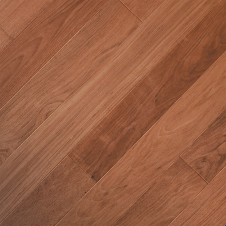 "Triangulo Brazilian Cherry 5 1/4"" Exotic Hardwood Engineered"