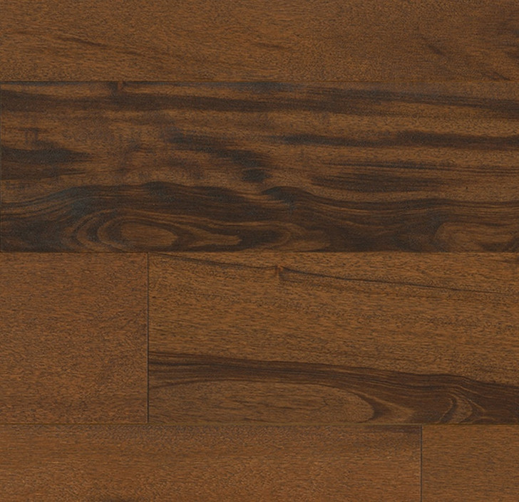 "Indus Parquet Tigerwood Wirebrush 5"" TW12WB Engineered Hardwood Plank"