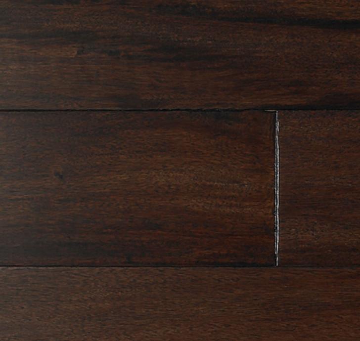 "Indus Parquet Tigerwood Hand Scraped 5"" IPPFHSEN Engineered Hardwood Plank"
