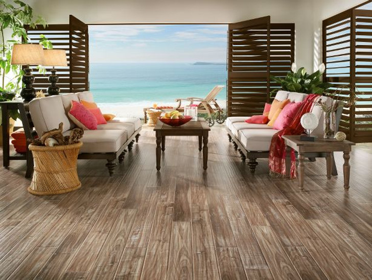 Coastal Living L3063 White Wash Walnut Boardwalk Armstrong Laminate Flooring