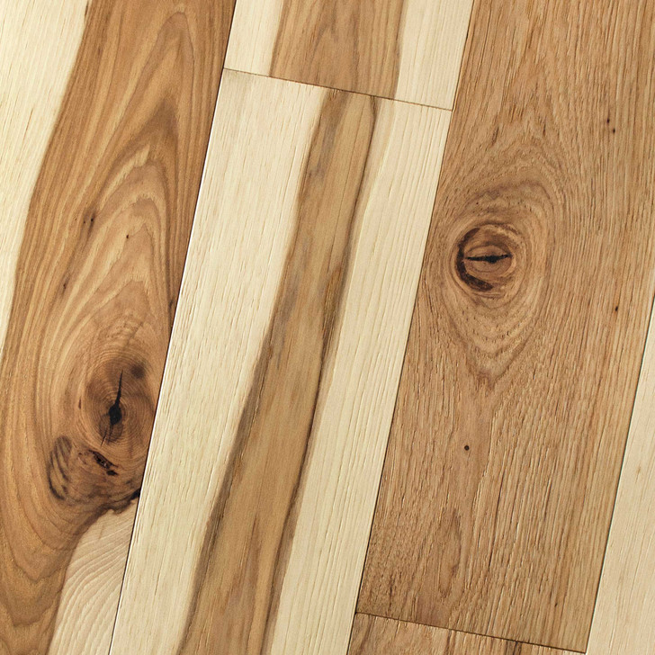 "Homerwood Wire Brushed Hickory 5/8"" Engineered Hardwood"