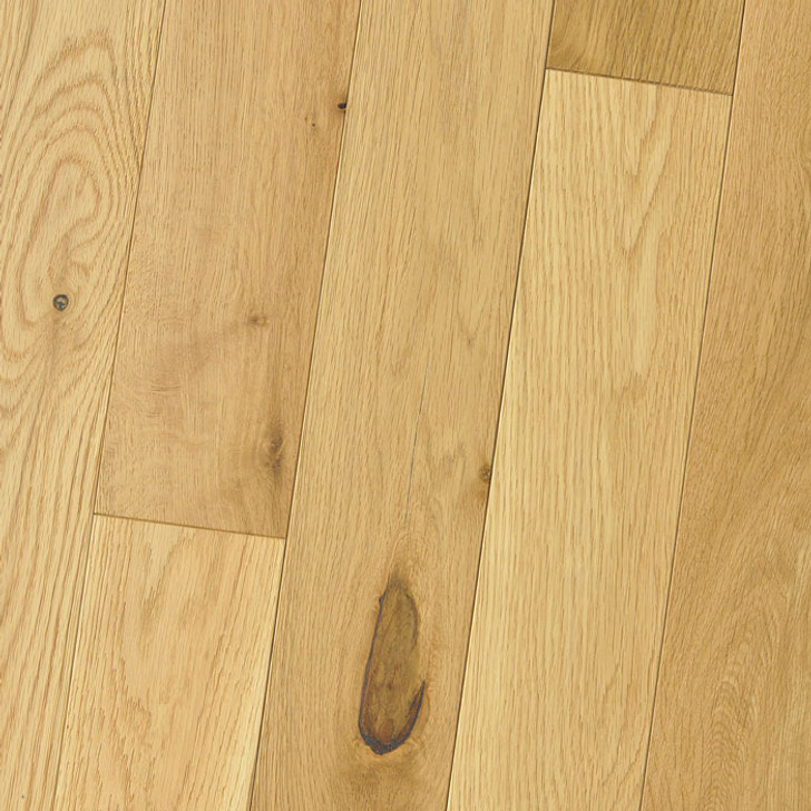 "HomerWood Wire Brushed White Oak 5/8"" Engineered Hardwood"