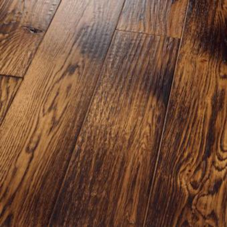 "HomerWood Smoked Specialties Sandstone White Oak 5/8"" Engineered Hardwood"