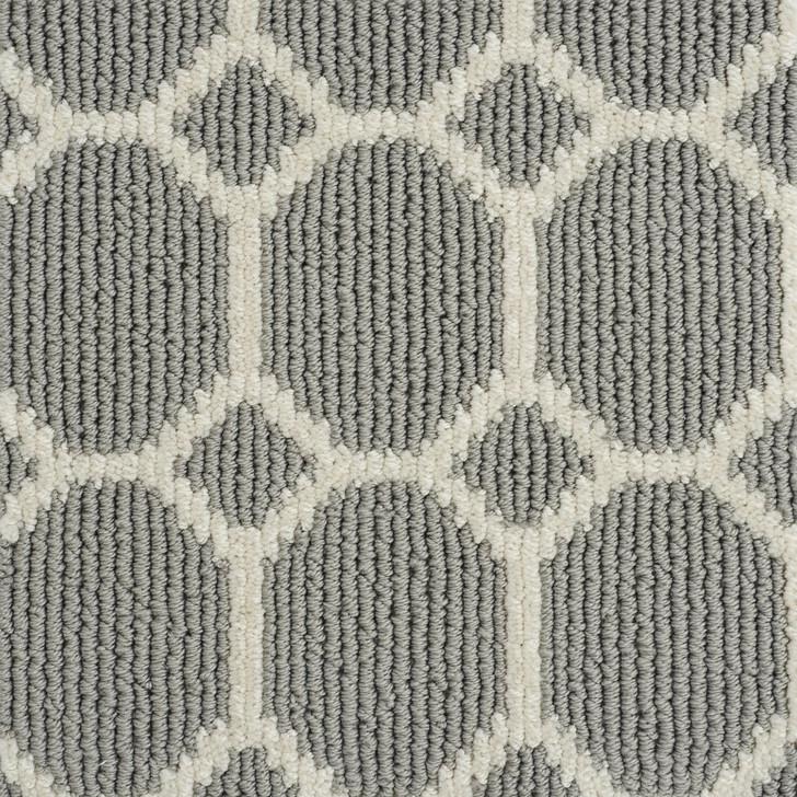 Stanton Atelier Icon Legend Geo Grey Pearls Nylon Fiber Residential Carpet