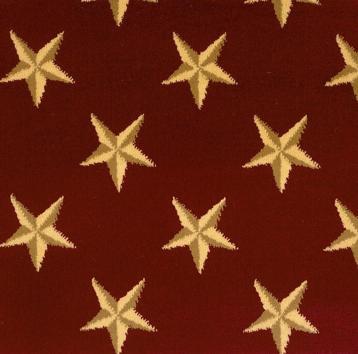 Stanton Lake Ontario Cherry Woven Carpet
