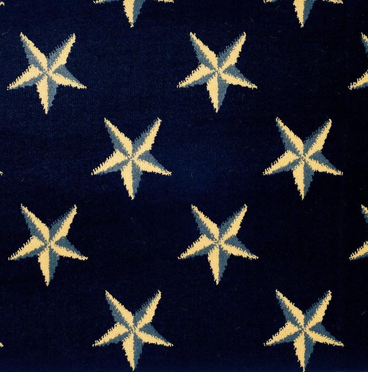 Stanton Lake Ontario Navy Woven Carpet