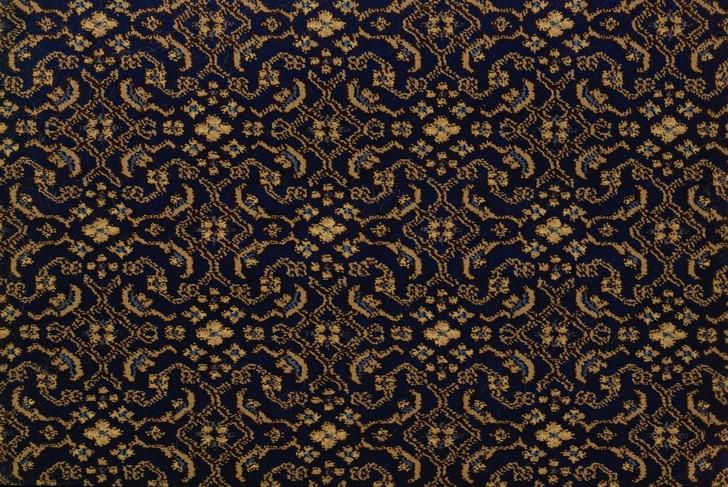 Stanton Lake Manyas Navy Woven Carpet