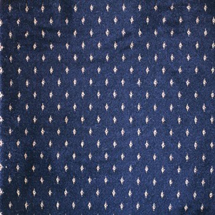 Stanton Lake Point Navy Woven Carpet