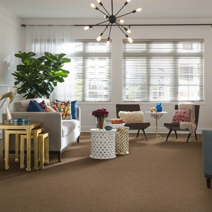 Shaw Secret Escape III 12 E0052 Antique Parchme Clear Touch Carpet