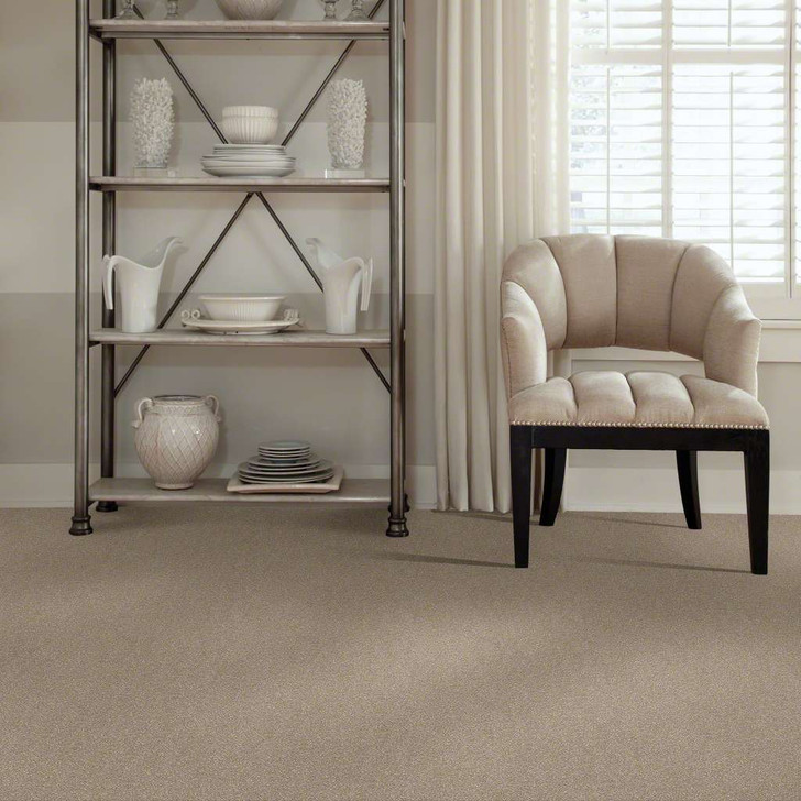 Shaw Secret Escape II 15 E0049 Oatmeal Clear Touch Carpet