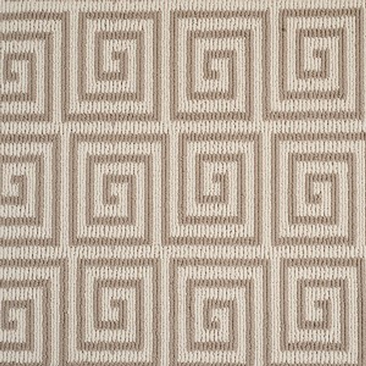 Atelier Icon Pioneer Key Stanton Ecru Stainmaster Tufted Carpet