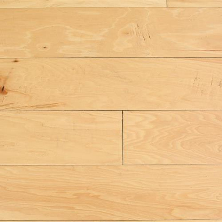 "Peachwood Natural Hickory 3/8"" x 5"" Hardwood Plank $3.14 SF"