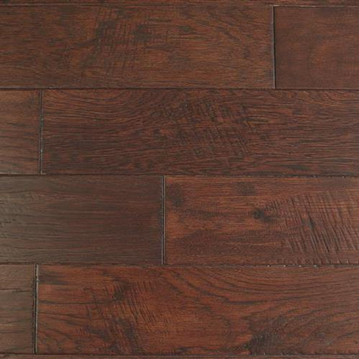 "Peachwood Jaka Bean Hickory 3/8"" x 5"" Hardwood Plank $3.14 SF"
