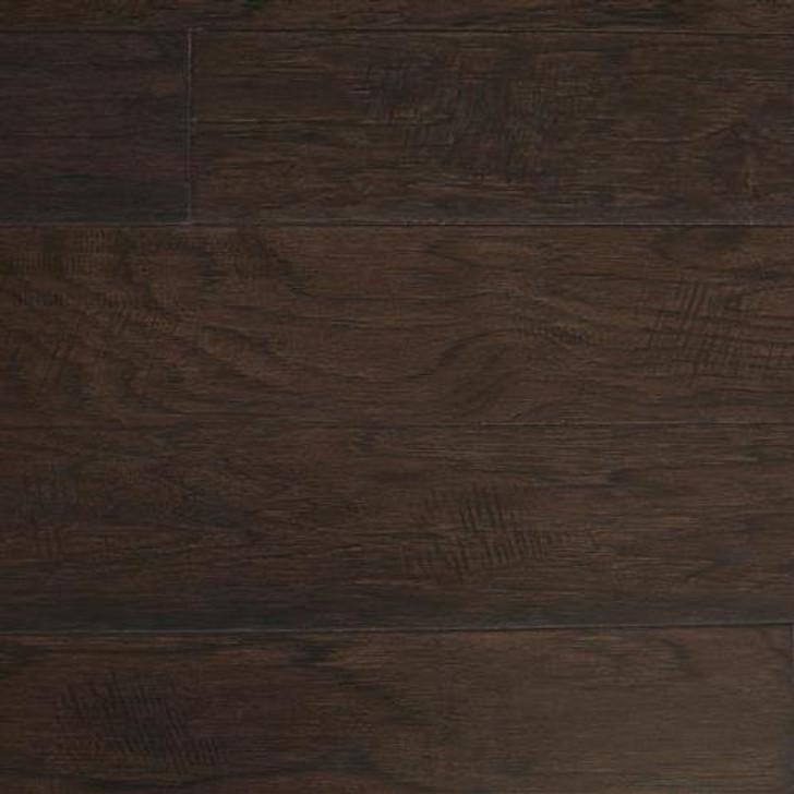 """Peachwood Smoked Hickory 3/8"""" x 5"""" Hardwood Plank"""