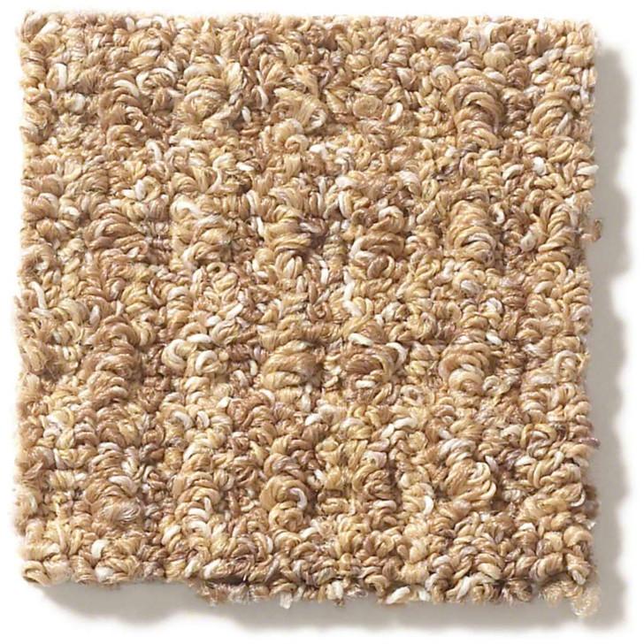 Shaw Foundation Natural Boucle E9634 Anso Nylon Carpet