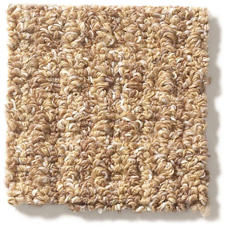 Shaw Foundation Natural Boucle E9634 Residential Carpet