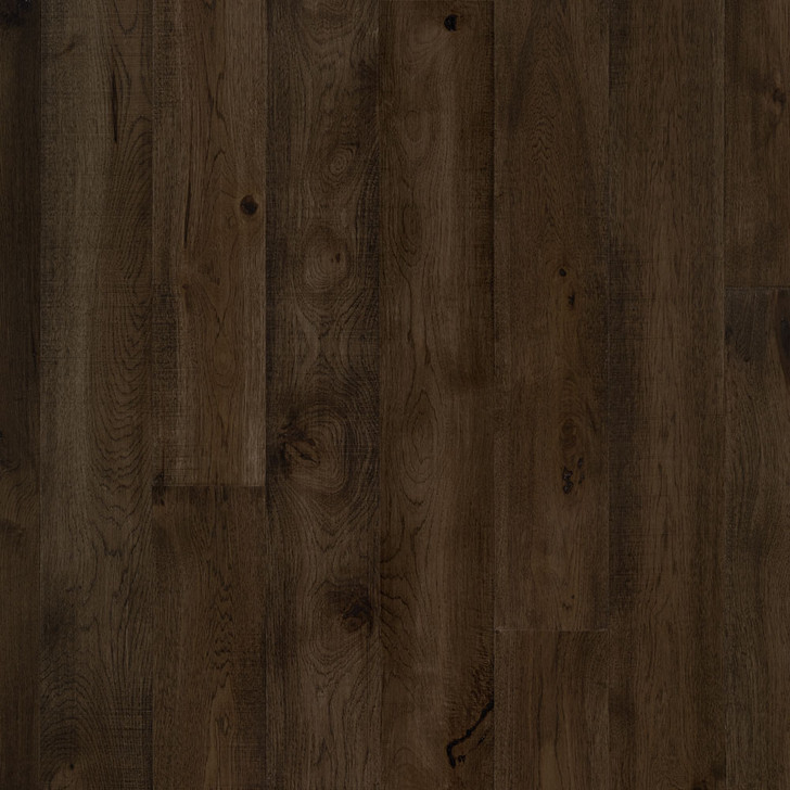 "Mannington Hand Crafted Smokehouse Hickory 9/16""x7"" Engineered Hardwood"