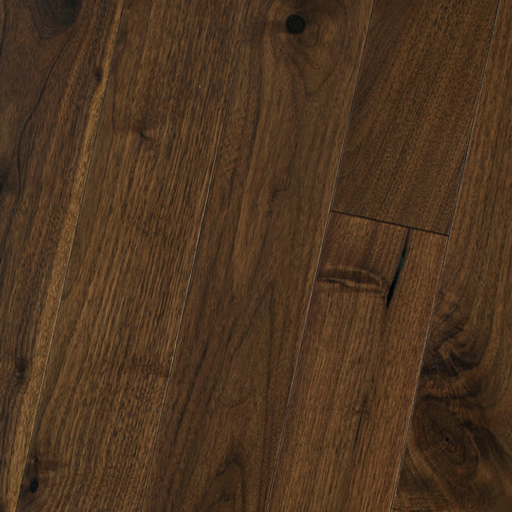 "HomerWood Traditional Character Black Walnut 3/4"" Solid Hardwood Plank"