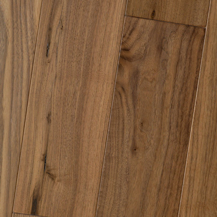"HomerWood Amish Soft Scraped Black Walnut 3/4"" Solid Hardwood"