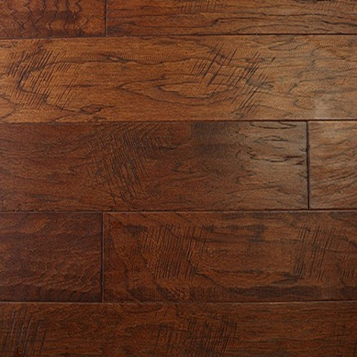 "In Stock Special Georgia Carpet Rain Forest Hickory 5"" Engineered Hardwood"