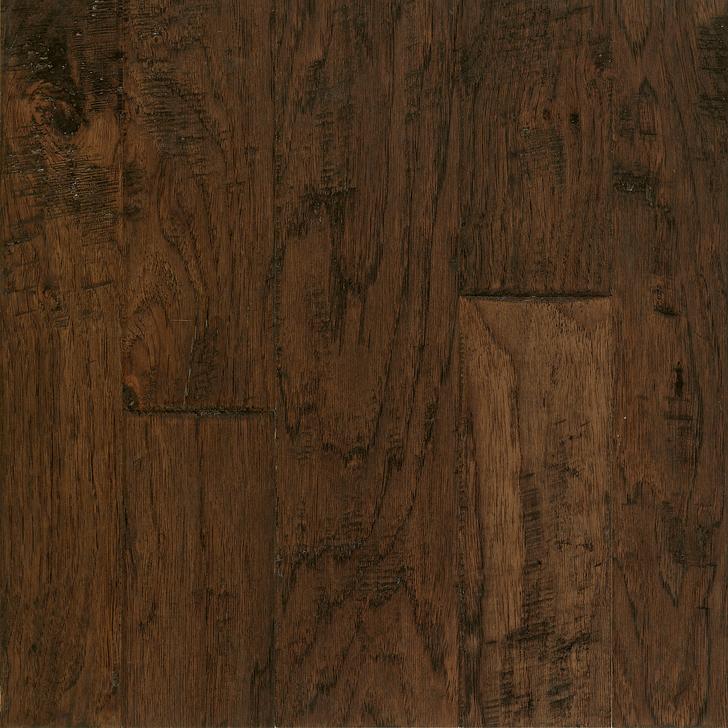 Armstrong Artesian Hand-Tooled Hickory Mixed Width Engineered Hardwood
