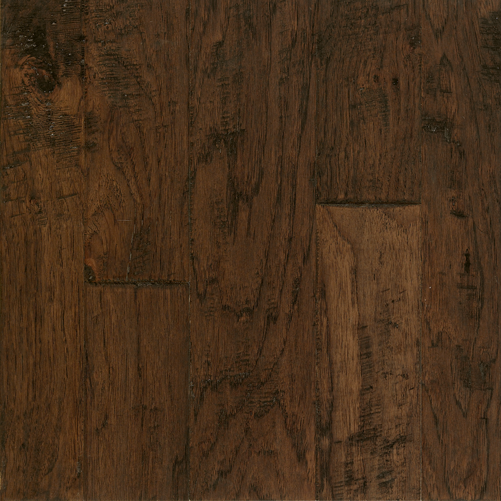Armstrong Artesian Hand-Tooled Hickory Mixed Width Engineered Hardwood