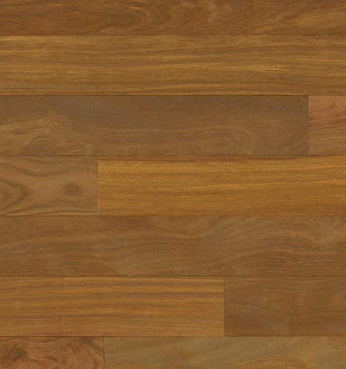"Indus Parquet Brazilian Chestnut Wirebrush Natural 4"" BCH343WB1000 Solid Hardwood Plank"