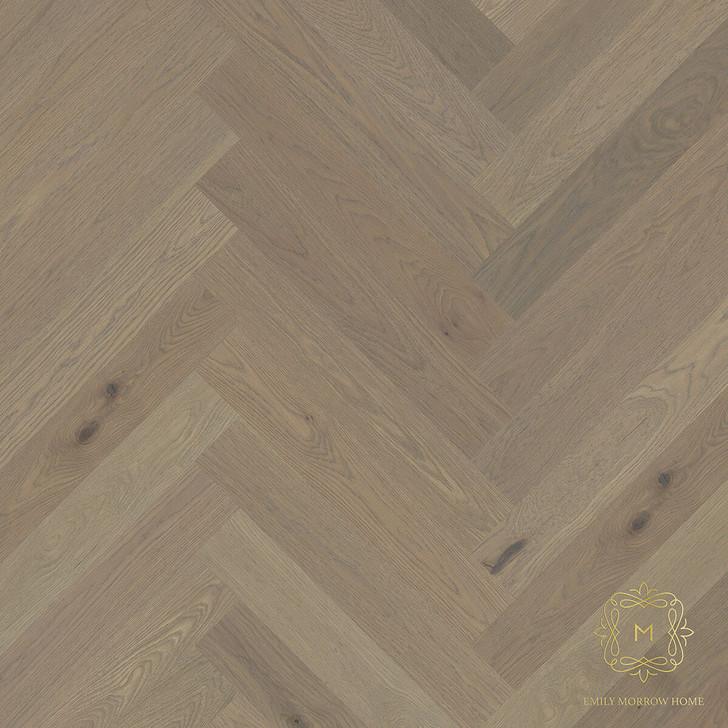 """Emily Morrow Tusker Herringbone 5 1/4"""" Engineered Hardwood Plank"""