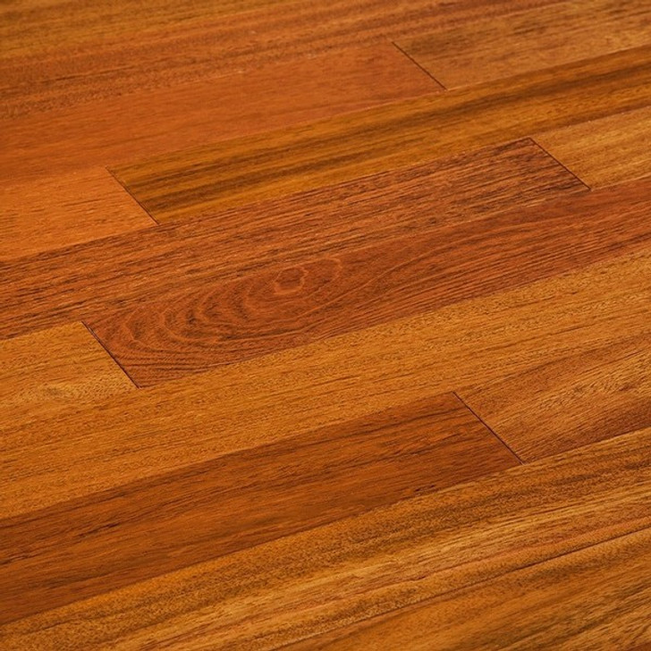 "Triangulo Brazilian Cherry 5"" Exotic Solid Hardwood"
