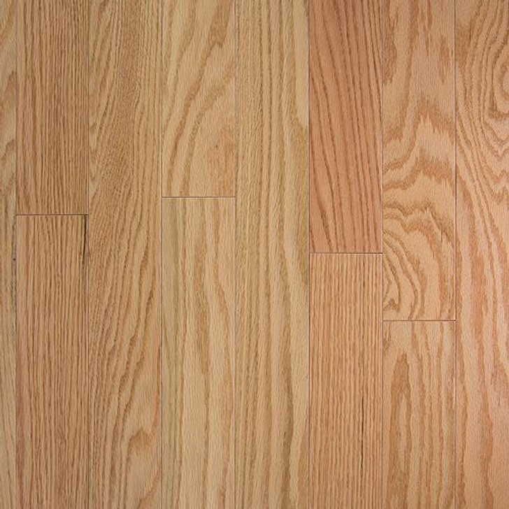 "Somerset Hardwood Floors 3/4"" x 3 1/4"" Red Oak Natural Cabin Grade"