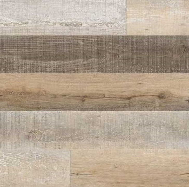 Metroflor Attraxion Deja New Coastal Oak Luxury Vinyl Plank Worn Greige